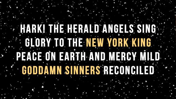 new york king christmas song